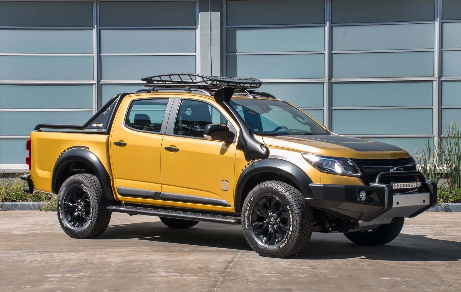 Chevy s10 trailboss concept looks more tonka than bumblee chevy s10chevrolet coloradoargentinahtmltrucks