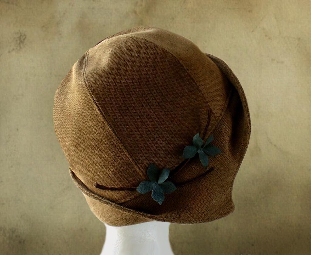 Clementine - 1920\'s Cloche Hat | Hüte, Selber nähen und Der kopf