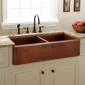Farmhouse Kitchen Will Look Best With Copper Sin Copper Kitchen