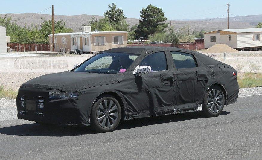 2018 Honda Accord Spy Shots >> 2018 Honda Accord Spy Shots Car Spy Photos Cars Spy