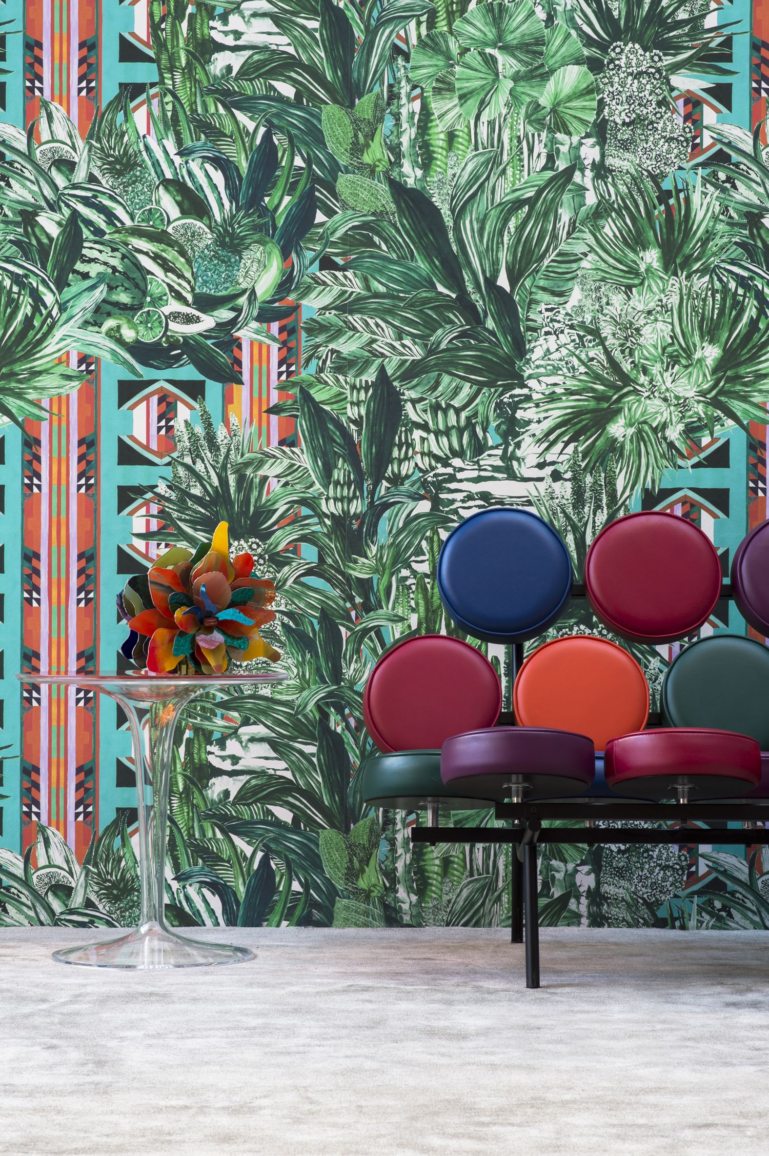 From pierre frey jungle collection walls and paint pinterest pierre frey tropical for Collection pierre frey