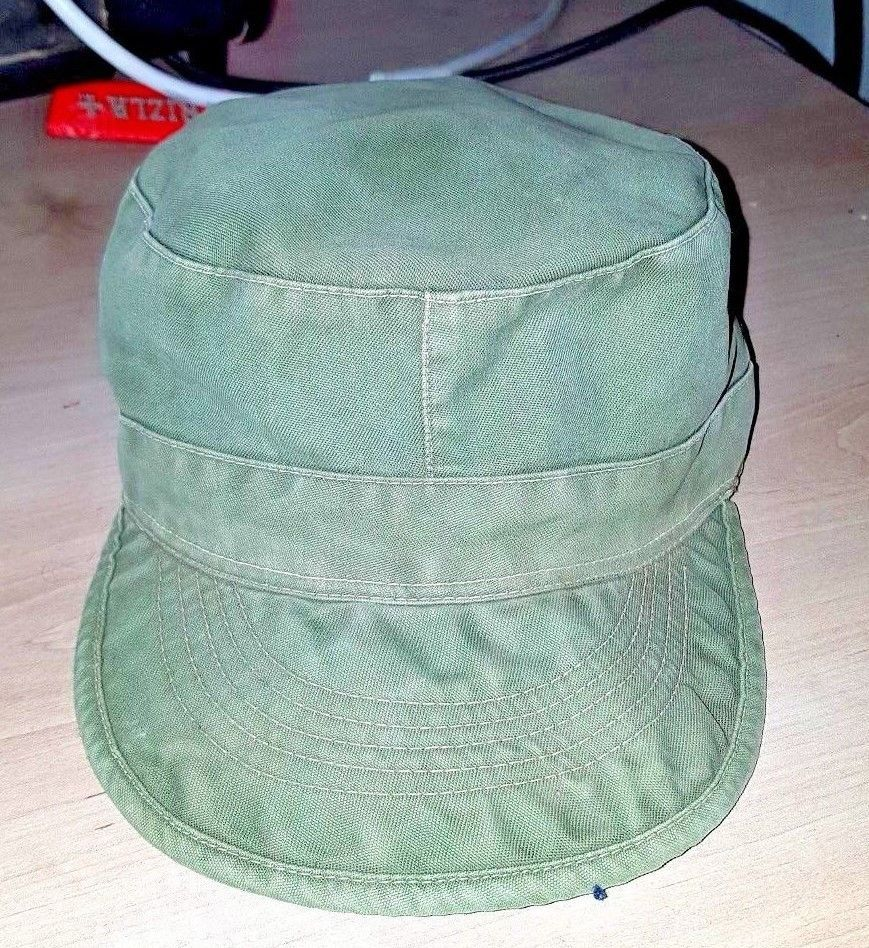 3f1115d8fac Classic Plain Vintage Army Military Original IDF Cadet Style Cotton Cap Hat  1969  fashion