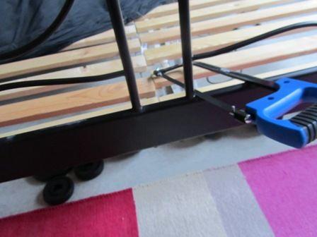 Noresund Bed Goes Modern Ikea Hackers Bed Parts Ikea Hackers Ikea