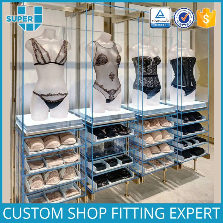 Guangzhou Manufacturer Outlet Durable Portable Underwear Display ...