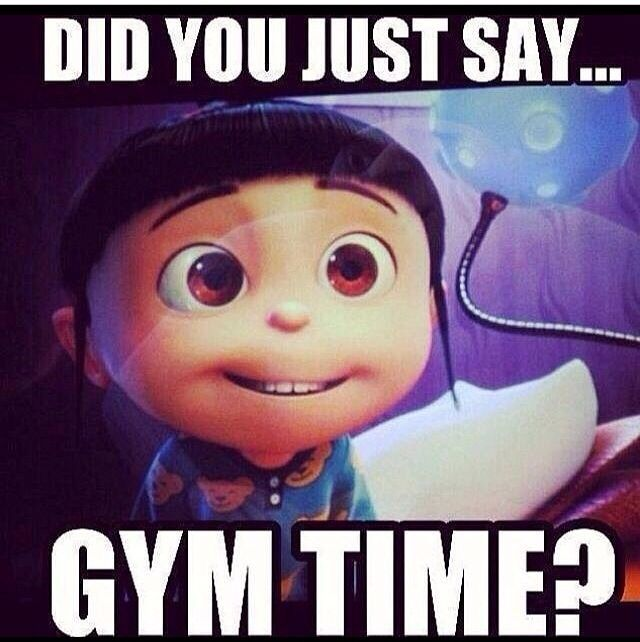 Gym time? :D #fitness #humor #love
