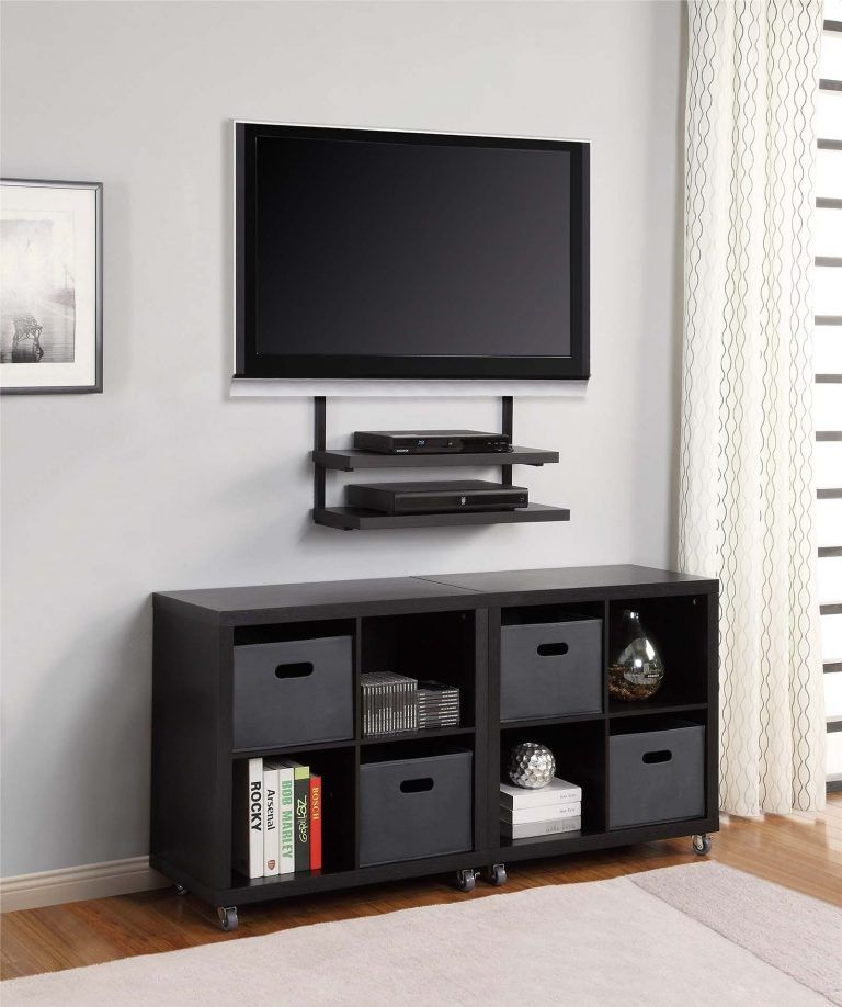 14 Modern Tv Wall Mount Ideas For Your Best Room Archlux Net Wall Mounted Tv Modern Tv Wall Wall Mount Tv Stand