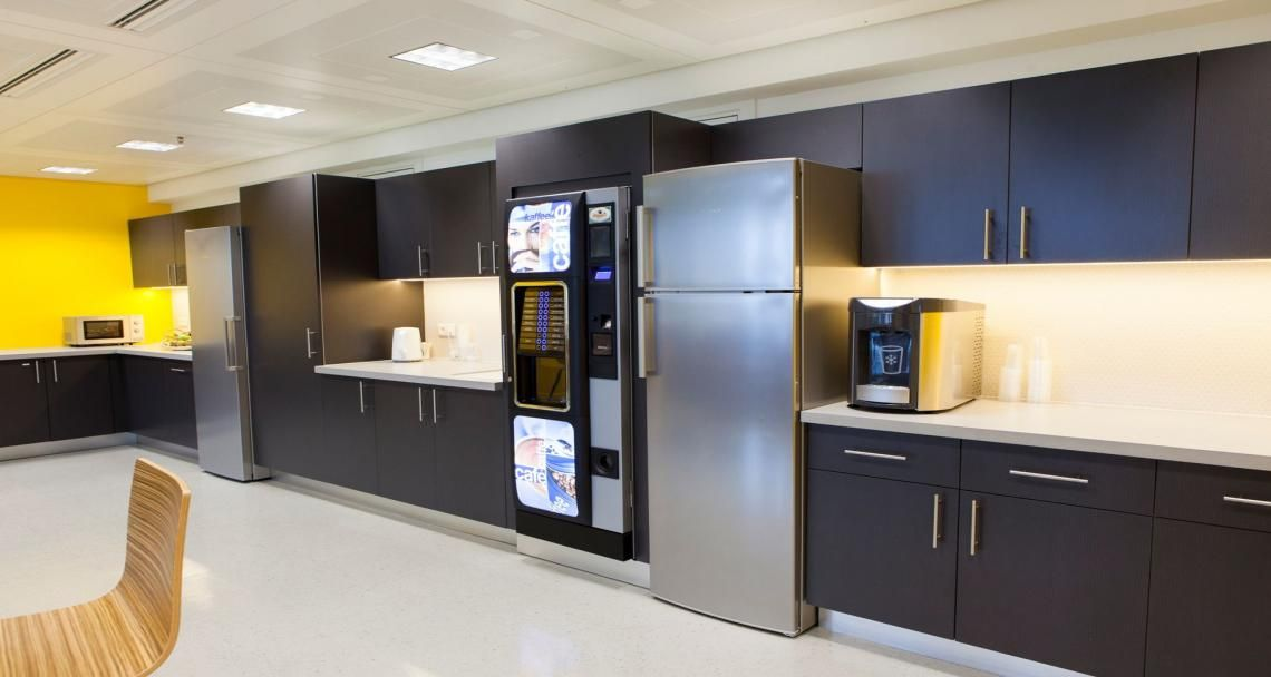 Cafeteria into Informatica's premises in Paris, France