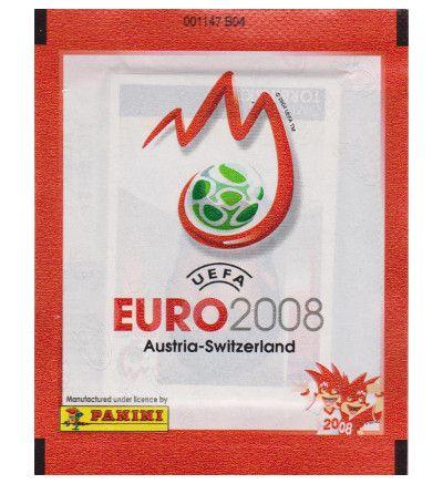 Panini Euro 2008 Tüte - Rote Version, Stickerpoint
