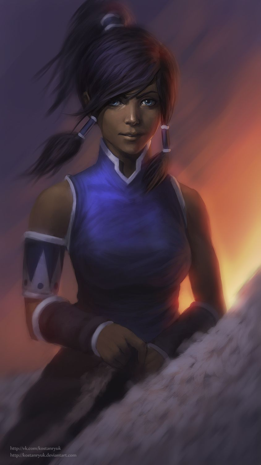 Korra By Kostanryuk On Deviantart Avatar Element Benders