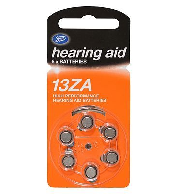 Boots Hearing Aid Batteries - Size 13 - 6 Pack