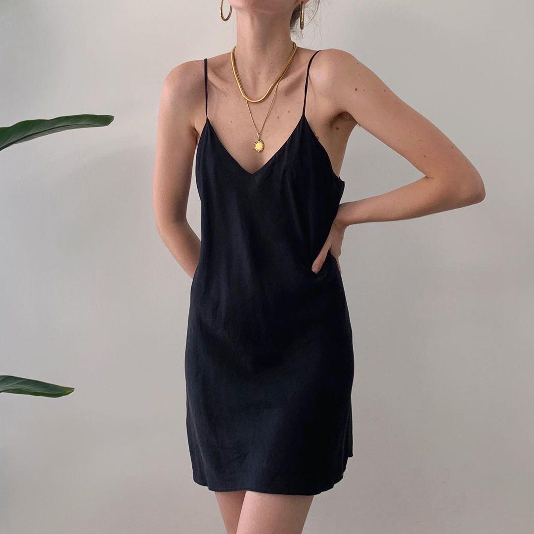Styling Silk Slip Dresses Slip Dress Outfit Fashion Slip Dress [ 1080 x 1080 Pixel ]