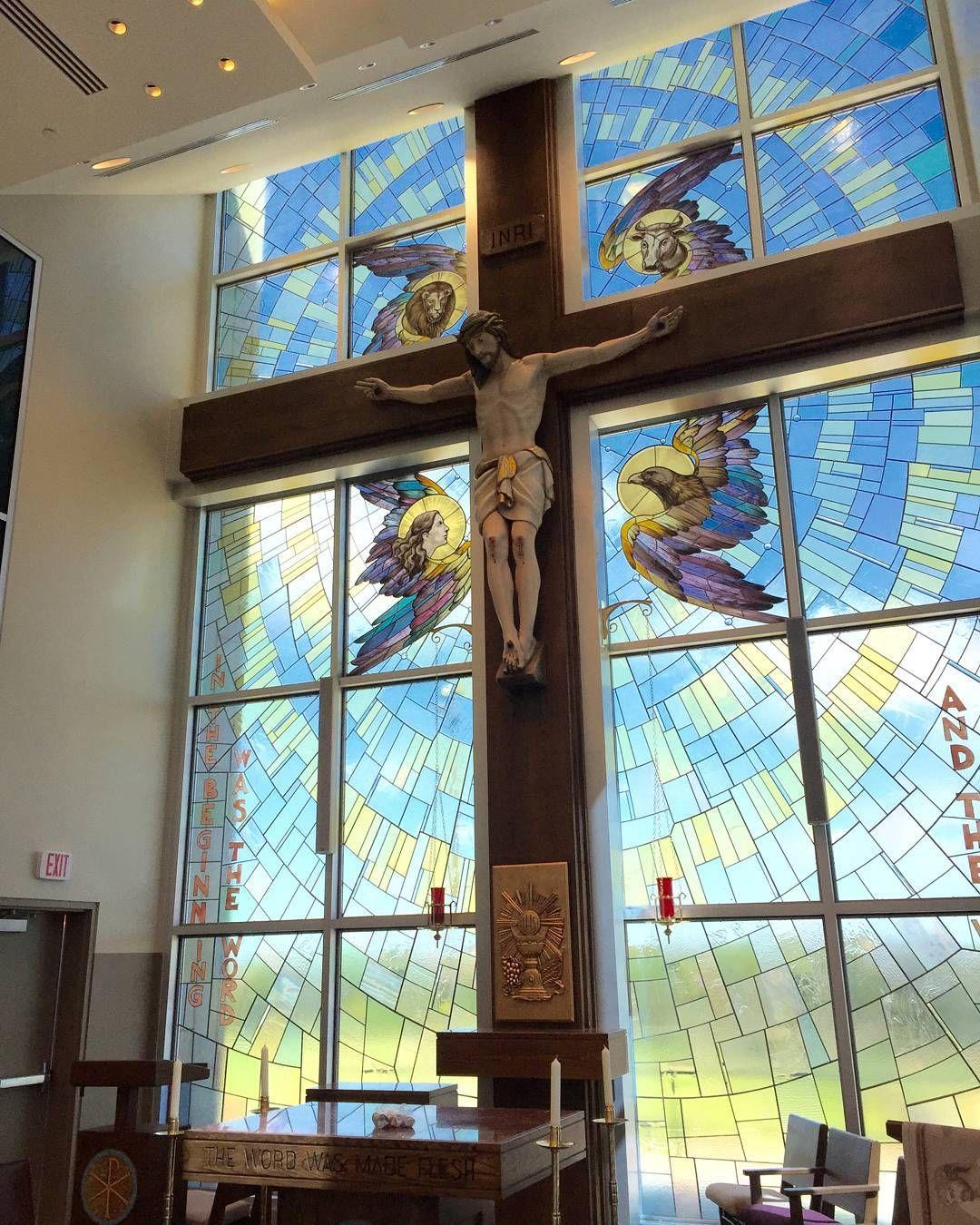 Incarnate Word Chapel At St Gabriel School In Austin TX Liturgical Design By