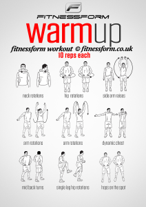 fitness workout exercises  workout warm up