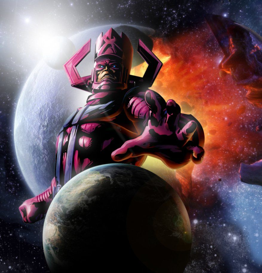 It's safe to say that Galactus is the most powerful Marvel comic book villain ever and he doesn't just sit around and bark orders like some of the other Marvel villains. Description from moviepilot.com. I searched for this on bing.com/images