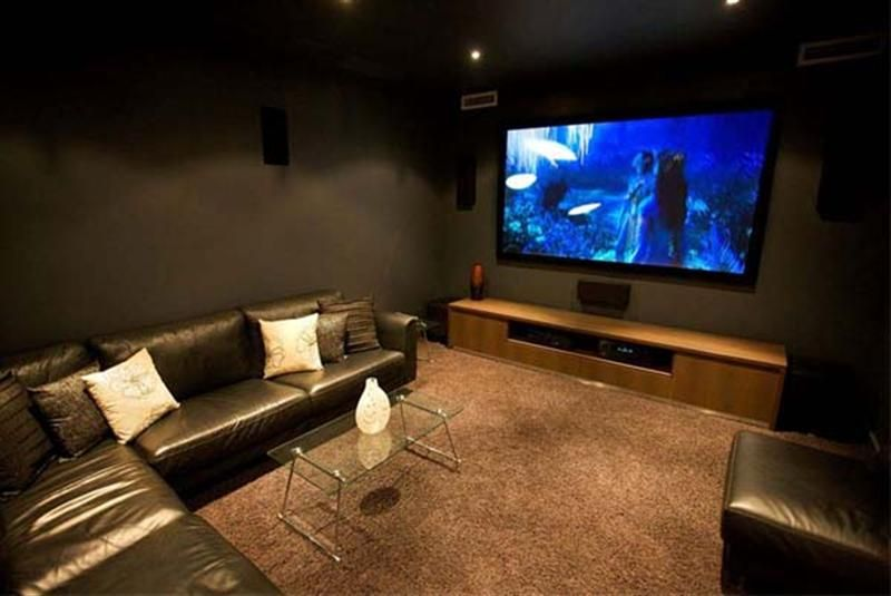 Ideas for decorating media room google search ideas for House plans with media room