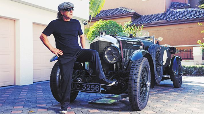 Brian Johnson Ac Dc And His Bentley Thunder Guts