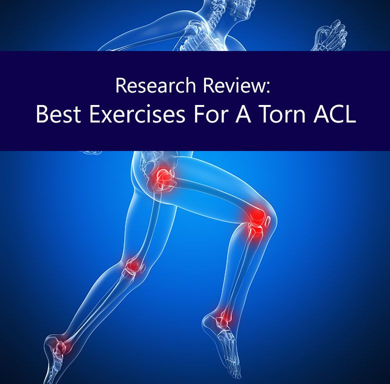 Exercises for torn acl acl tear ligament injury acl