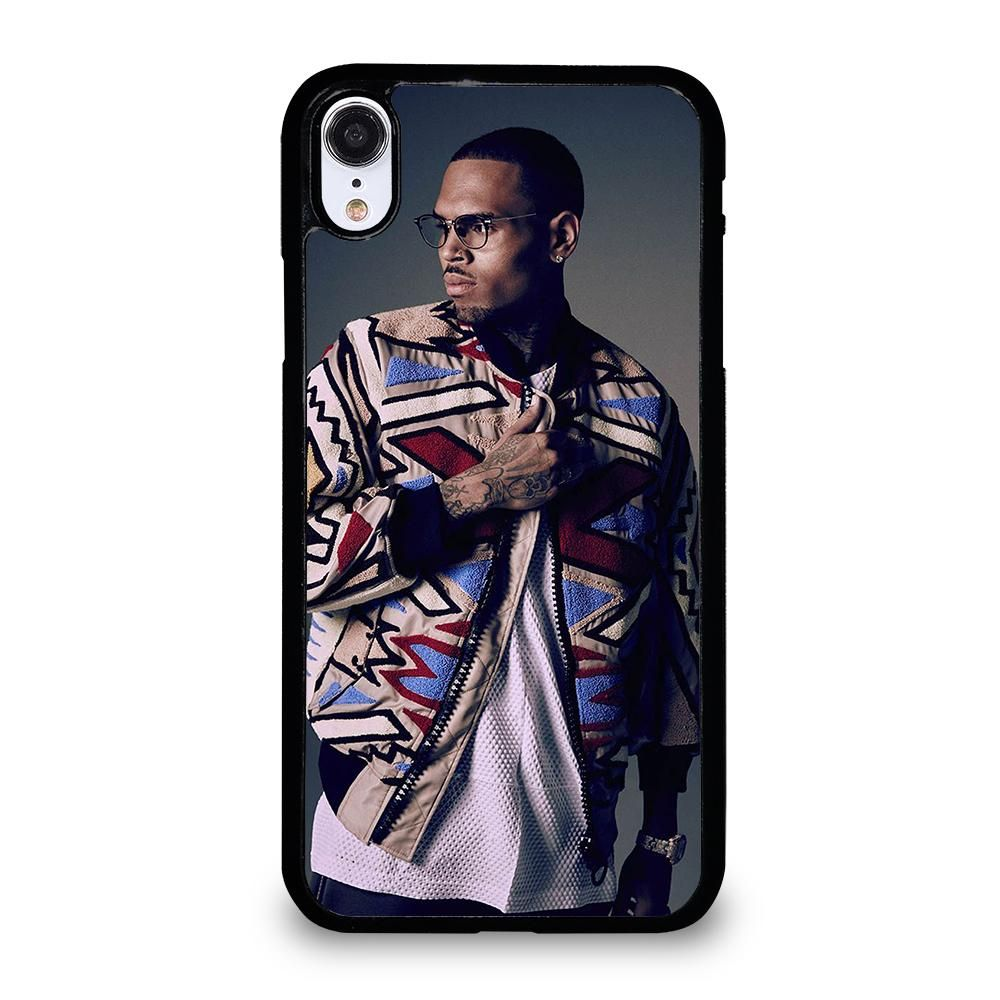 Chris brown 3 iphone xr case in 2020 black white colour