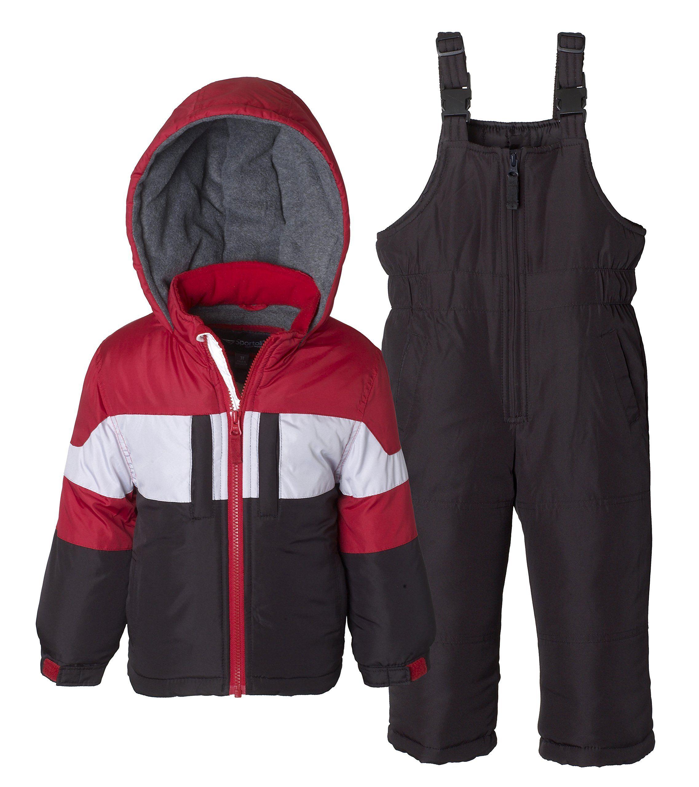 97ef5b433 Sportoli Boys Kids Winter Snowboard Skiing Parka Jacket   Snow Bib ...