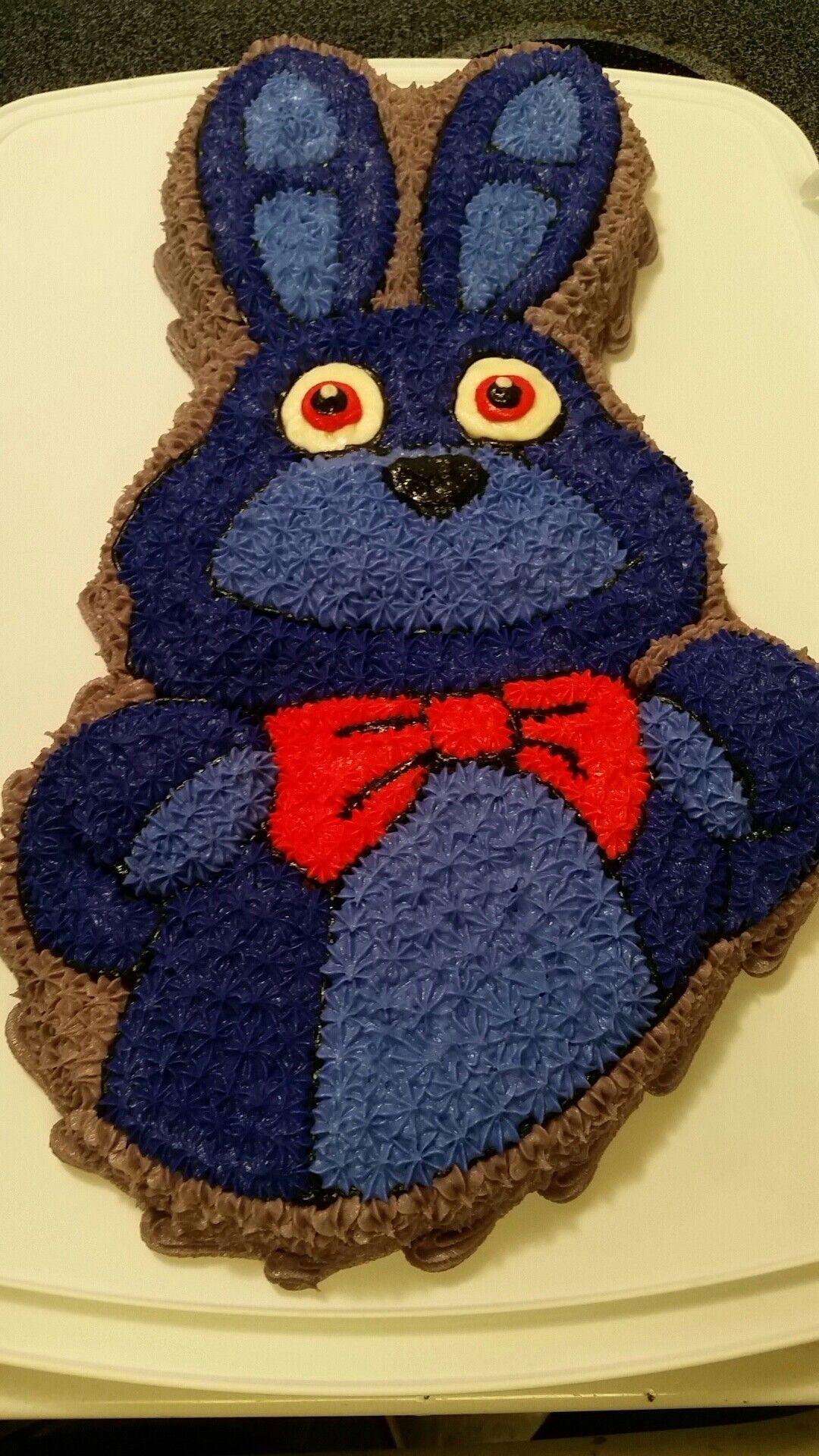 Bonnie Five Nights At Freddys Cake Fnaf