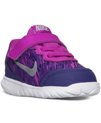 66a2a8144fcf5 Nike Toddler Girls  Flex Experience 4 Print Running Velcro® Sneakers from Finish  Line