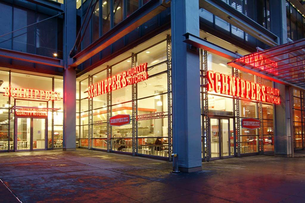 Schnipper S Quality Kitchen 620 8th Avenue Nyc 212 921 2400 Restaurant New York Nyc York Restaurants
