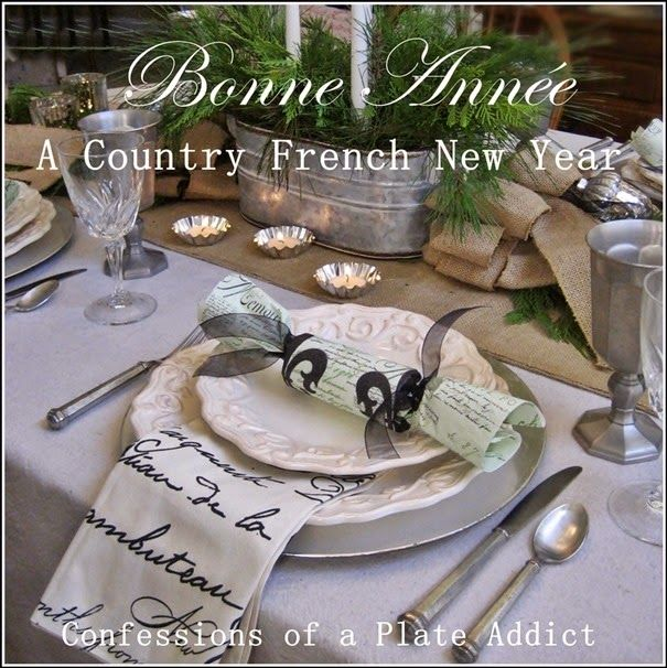 confessions of a plate addict bonne annea country french new year