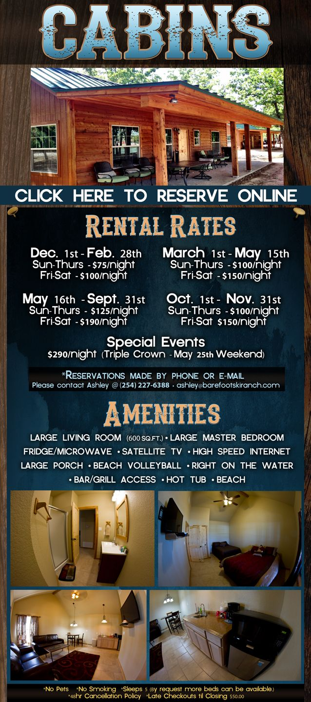 Bsr Cable Park Cabin Rentals Rentals Bsr Cable Park Waco Hotels Cabins In Texas