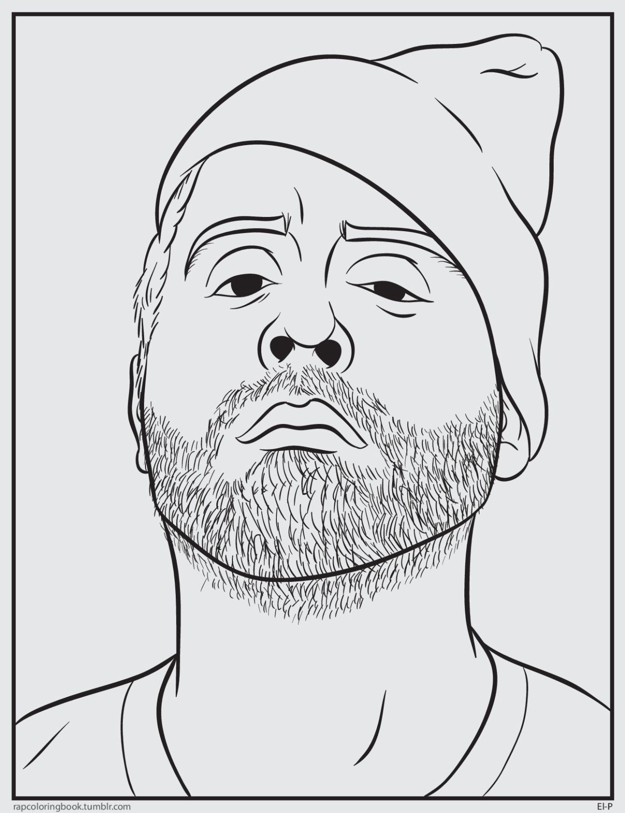 Bun b s rapper coloring book coloring pages for Rapper coloring pages