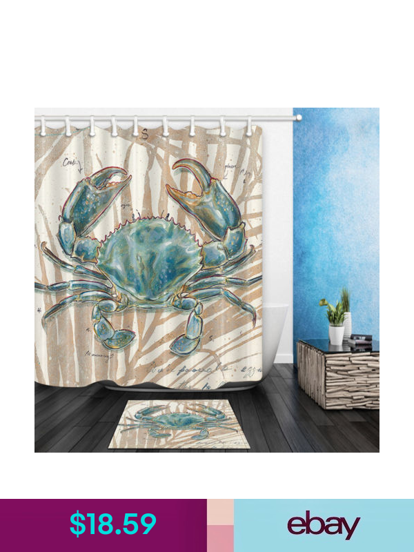 Shower Curtains Liners Ebay Home Garden In 2020 Fabric