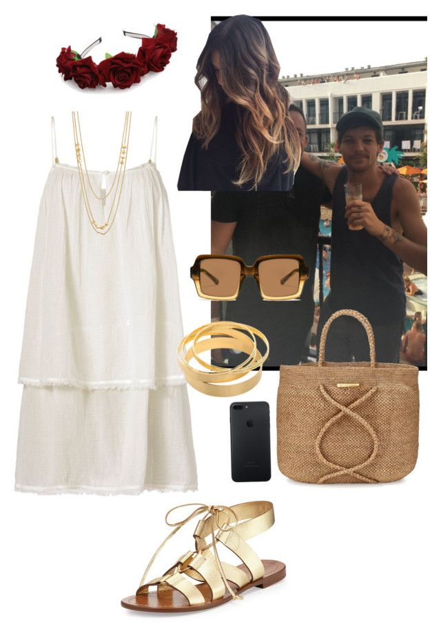 """""""Ibiza With Louis"""" by loveandonedirection ❤ liked on Polyvore featuring Kate Spade, Heidi Klein, ViX, Gorjana, The Row, OneDirection, louistomlinson and ibiza"""