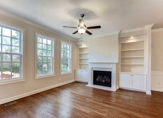 Fireplace With Built In Bookshelves | ... Number ...
