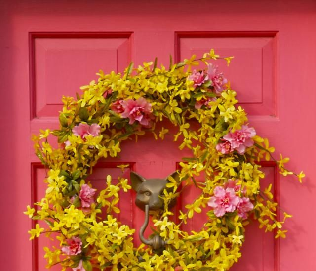 Your Southwest Front Door Colour - Feng Shui Tips: Best choice of colours for a Southwest facing front door are determined by the feng shui elements that are nourishing for this direction - the elements of Earth and Fire. Use the corresponding element colours to create a strong feng shui front door.