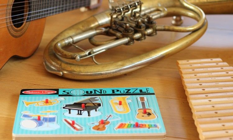 Puzzle dźwiękowe orkiestra <3