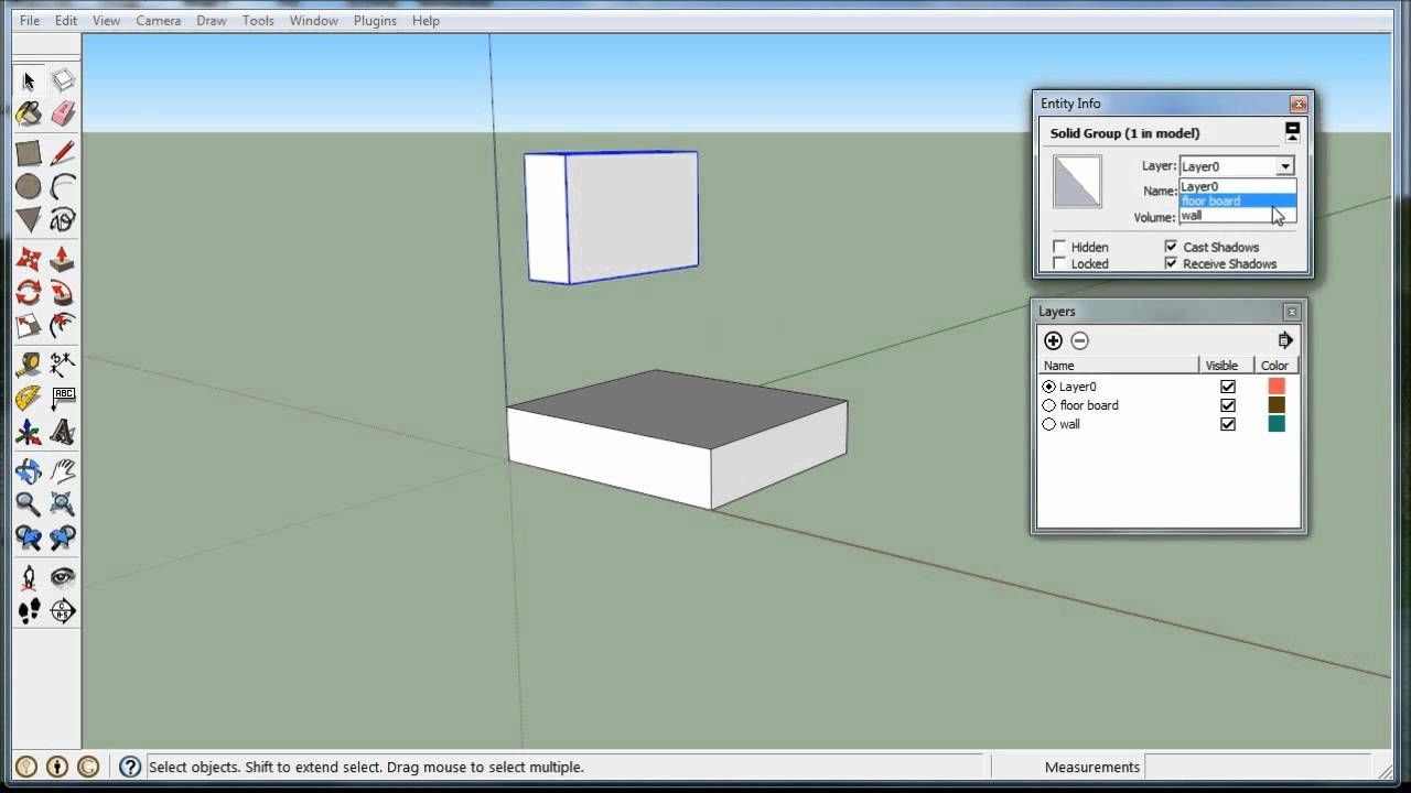 How To Use Layers In Sketchup Woodworking Software Woodworking