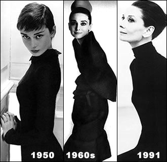 Audrey Hepburn: Audrey Kathleen Ruston ( 4 May 1929 – 20 January 1993)