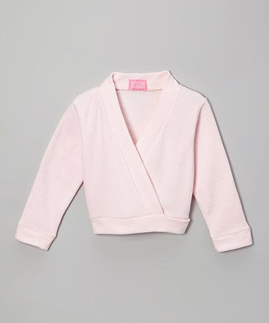 fc59ecf4b Love this Pink Ballet Wrap Top - Toddler & Girls by Story Book Wishes on  #zulily! #zulilyfinds $9.99