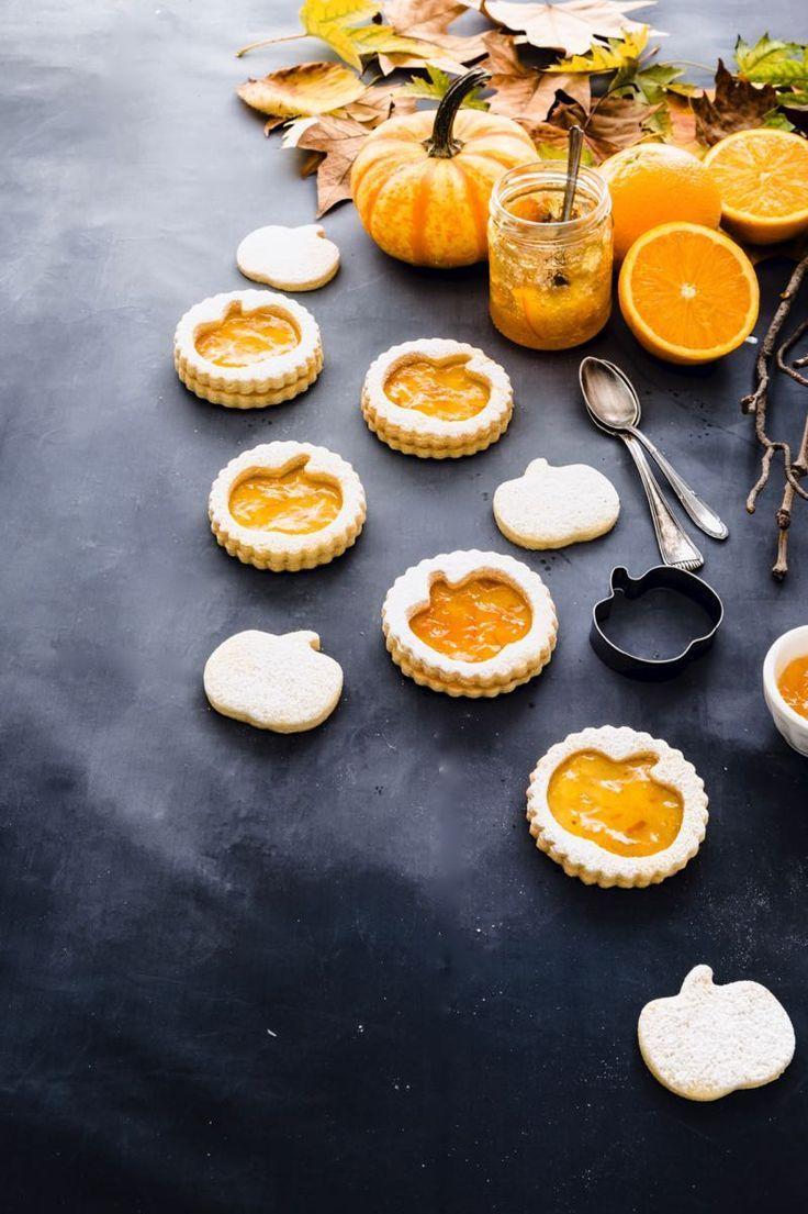 BISCOTTI ALLA MARMELLATA DI ARANCE // Jam filled butter