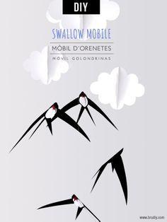 Móvil de Golondrinas / Mòbil d'Orenetes / Swallow Mobile