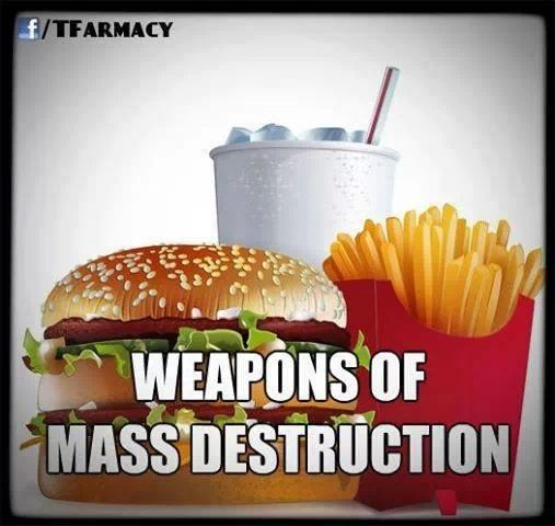 Foods that destroy you