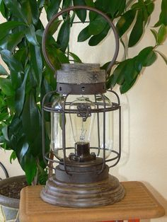Hobby Lobby Candle Lantern With Edison Bulb Lantern Lamp Art Lamp Edison Lighting