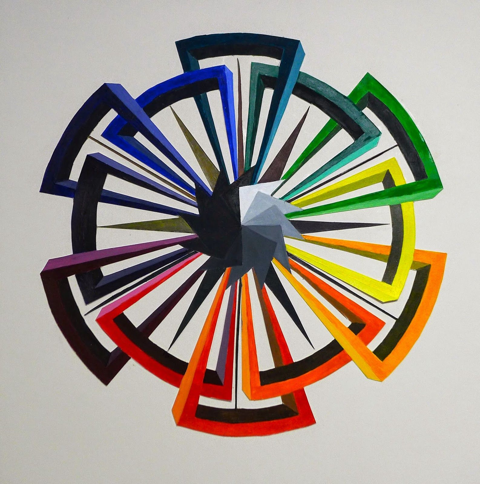 College Student Color Wheels