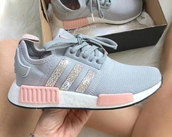 adidas nmd mujer gris y rosa