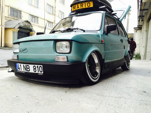 Fiat 126 With Images Fiat 126 Fiat Small Cars