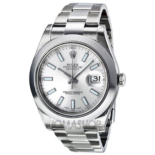 Rolex Review | Rolex Datejust II Automatic Silver Dial Stainless Steel Mens Watch 116300SSO By Rolex