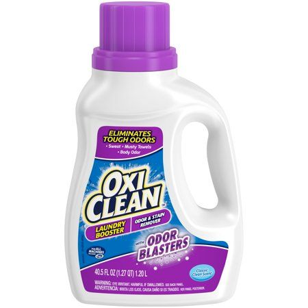 Oxiclean Odor Blasters Odor Stain Remover Laundry Booster 40 5