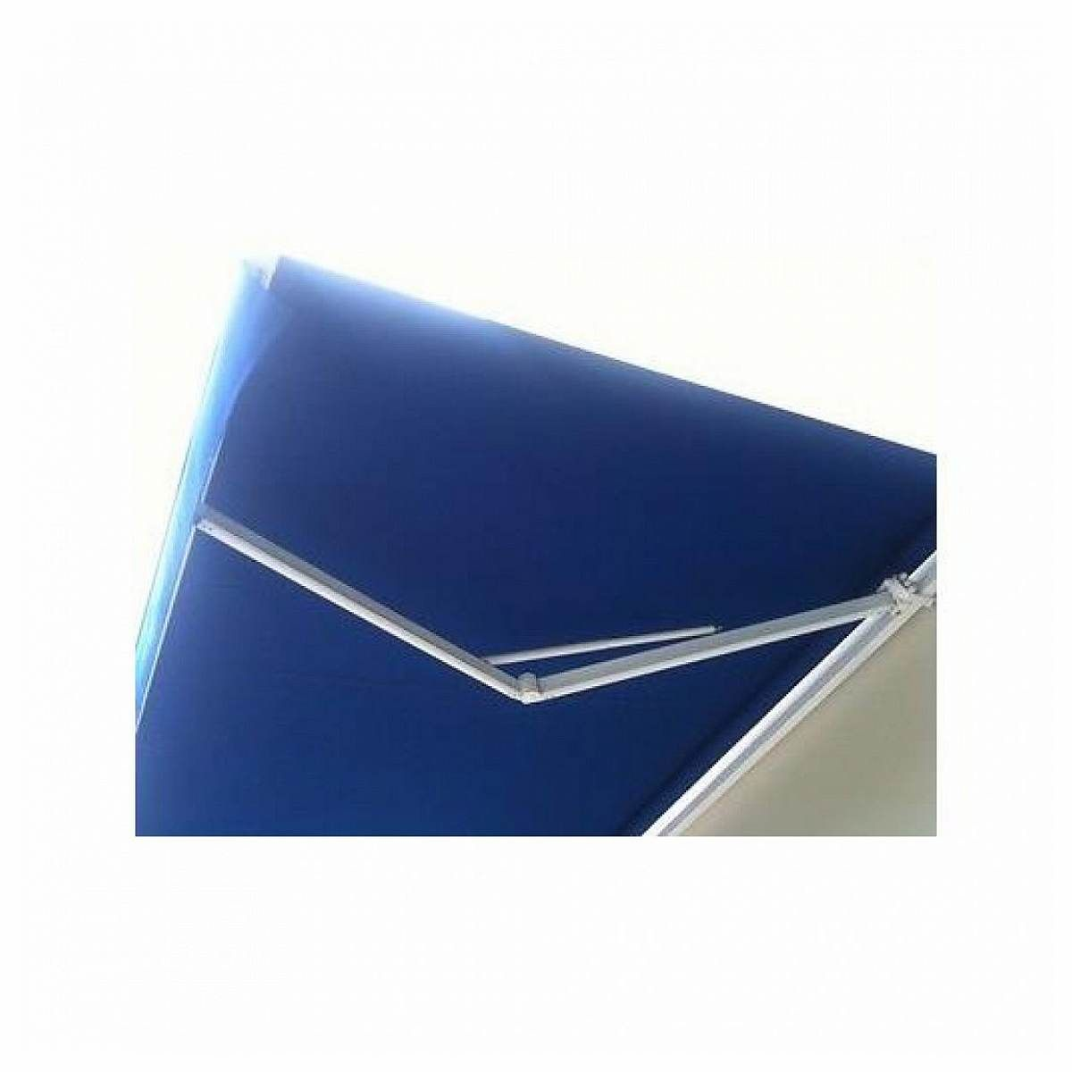 350 Aleko Retractable Awning 10 X 8 3m X 2 5m Solid Blue Patio Awning Patio Awning Blue Patio Retractable Awning