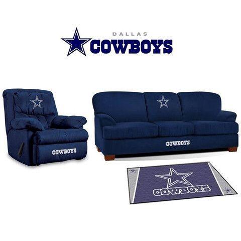 Dallas Cowboys Microfiber Furniture Set Sports Fans Plus Https T