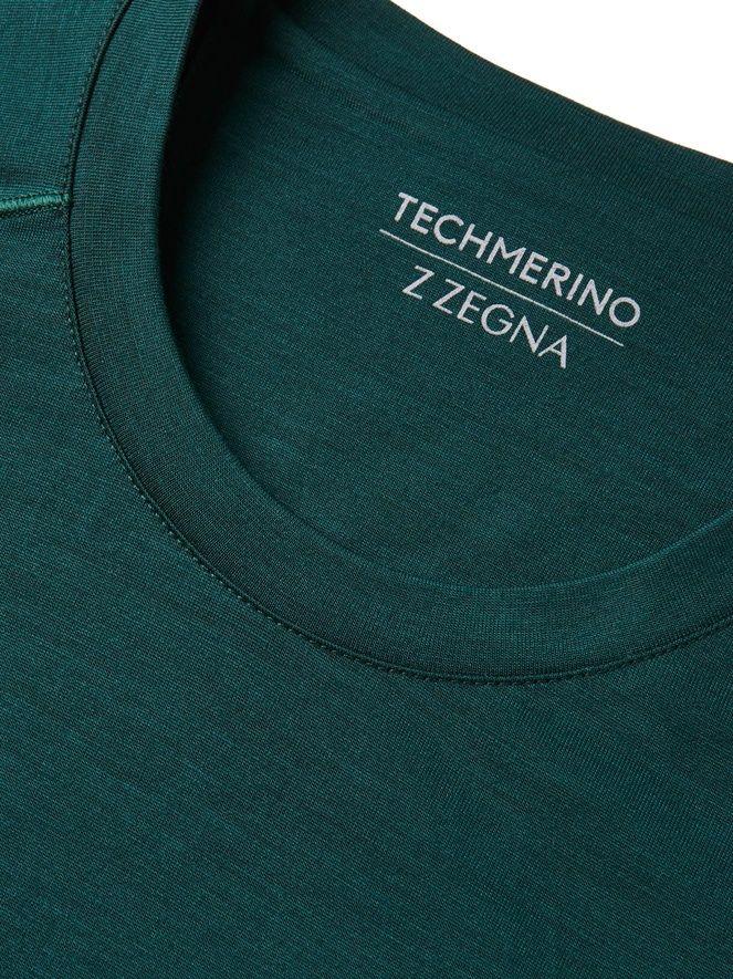 T-shirt vert à manches longues FW16 9907647 | Zegna