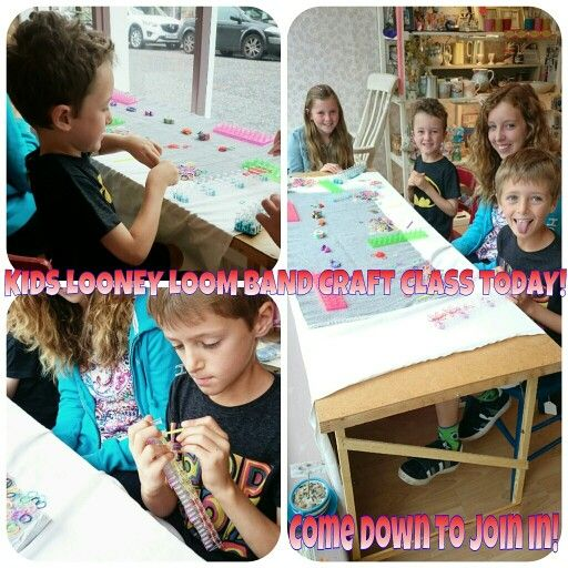 Loom Band Class August 2014
